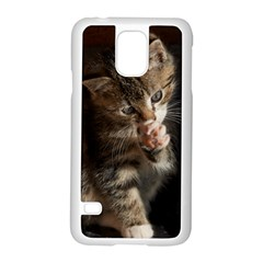 Talk To The Paw Samsung Galaxy S5 Case (white)