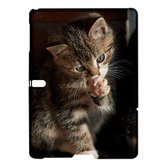 Talk To The Paw Samsung Galaxy Tab S (10 5 ) Hardshell Case