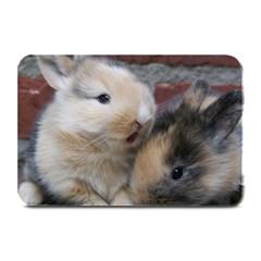Small Baby Rabbits Plate Mats