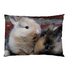 Small Baby Rabbits Pillow Cases (two Sides)
