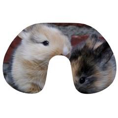 Small Baby Rabbits Travel Neck Pillows