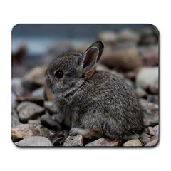 Small Baby Bunny Large Mousepads