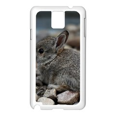 Small Baby Bunny Samsung Galaxy Note 3 N9005 Case (white)