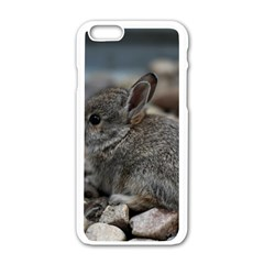 Small Baby Bunny Apple Iphone 6/6s White Enamel Case