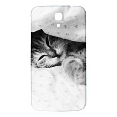 Sleepy Kitty Samsung Galaxy Mega I9200 Hardshell Back Case