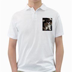 Questioning Kitty Golf Shirts