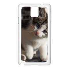 Questioning Kitty Samsung Galaxy Note 3 N9005 Case (white)