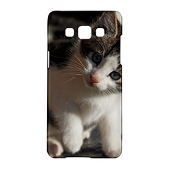 Questioning Kitty Samsung Galaxy A5 Hardshell Case