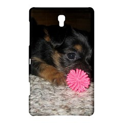 Puppy With A Chew Toy Samsung Galaxy Tab S (8 4 ) Hardshell Case