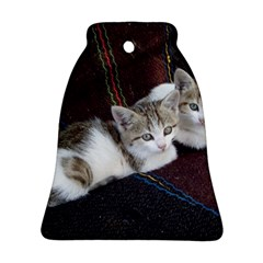 Kitty Twins Bell Ornament (2 Sides)