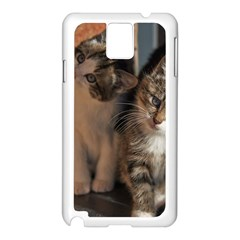 Cute Kitties Samsung Galaxy Note 3 N9005 Case (white)