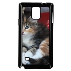Comfy Kitty Samsung Galaxy Note 4 Case (black)
