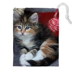 COMFY KITTY Drawstring Pouches (XXL)