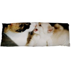 Calico Cat And White Kitty Body Pillow Cases (dakimakura)
