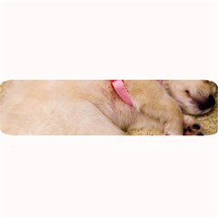 Adorable Sleeping Puppy Large Bar Mats