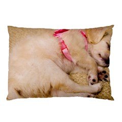 Adorable Sleeping Puppy Pillow Cases