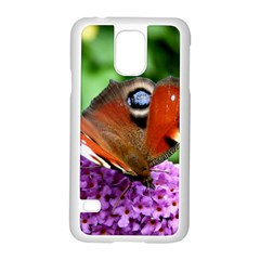 Peacock Butterfly Samsung Galaxy S5 Case (white)
