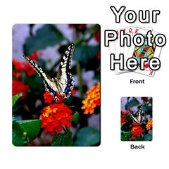Butterfly Flowers 1 Multi Purpose Cards (rectangle)