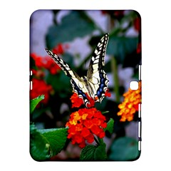 Butterfly Flowers 1 Samsung Galaxy Tab 4 (10 1 ) Hardshell Case