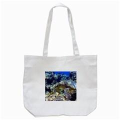 Sea Turtle Tote Bag (white)