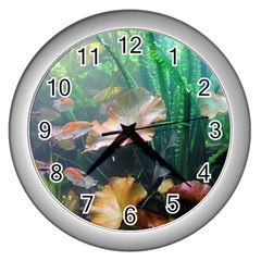 Marine Life Wall Clocks (silver)