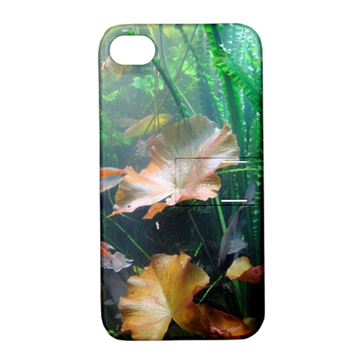 MARINE LIFE Apple iPhone 4/4S Hardshell Case with Stand