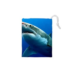 GREAT WHITE SHARK 3 Drawstring Pouches (XS)