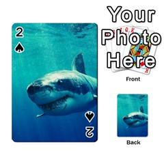 Great White Shark 1 Playing Cards 54 Designs