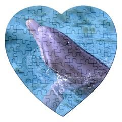 DOLPHIN 2 Jigsaw Puzzle (Heart)