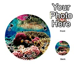 Coral Reefs 1 Playing Cards 54 (round)