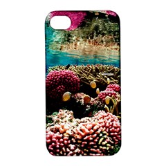 Coral Reefs 1 Apple Iphone 4/4s Hardshell Case With Stand
