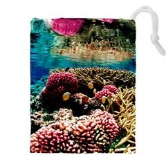 Coral Reefs 1 Drawstring Pouches (xxl)