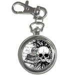 Skull & Books Key Chain Watches Front