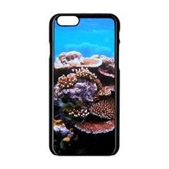 Coral Outcrop 2 Apple Iphone 6/6s Black Enamel Case