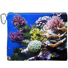 Coral Outcrop 1 Canvas Cosmetic Bag (xxxl)