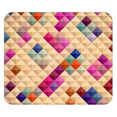 Mosaic & Co 01a  Double Sided Flano Blanket (small)