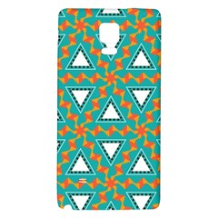 Triangles And Other Shapes Pattern			samsung Note 4 Hardshell Back Case