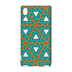 Triangles And Other Shapes Patternsony Xperia Z3+ Hardshell Case