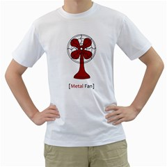 Metal Fan Men s T Shirt (white)