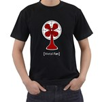 Metal Fan Men s T-Shirt (Black) Front