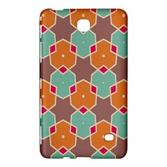 Stars And Honeycombs Pattern			samsung Galaxy Tab 4 (8 ) Hardshell Case