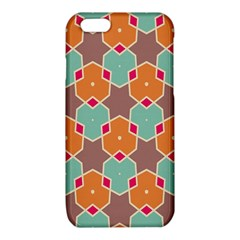 Stars and honeycombs patterniPhone 6/6S TPU Case
