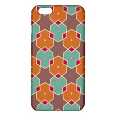 Stars and honeycombs pattern			iPhone 6 Plus/6S Plus TPU Case