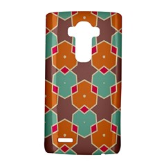Stars and honeycombs patternLG G4 Hardshell Case