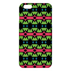 Shapes on a black background patterniPhone 6 Plus/6S Plus TPU Case