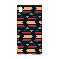Triangles and other shapesSony Xperia Z3+ Hardshell Case