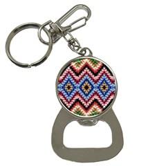 Colorful Diamond Crochet Bottle Opener Key Chains