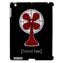Metal Fan Apple Ipad 3/4 Hardshell Case (compatible With Smart Cover)