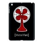 Metal Fan Apple iPad Mini Case (Black) Front