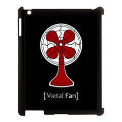 Metal Fan Apple Ipad 3/4 Case (black)